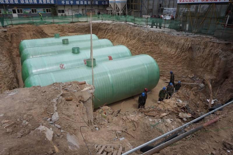 地埋式玻璃鋼化糞池玻璃鋼化糞池污水處理設備