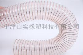 PU钢丝伸缩管  钢丝软管规格  塑料伸缩软管