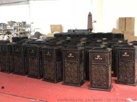 专业定做异形不锈钢户外垃圾桶 造型垃圾桶