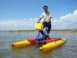 聚乙烯pe塑料水上自行车,单人水上单车