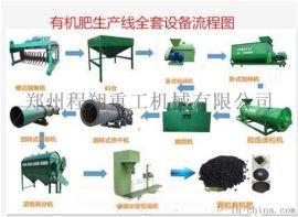 有机茶叶专用猪粪鸡粪生物有机肥生产线设备多少钱一套