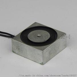 厂家直销 兰达小型方形吸盘式电磁铁H404017