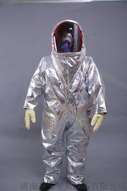 全封闭式防火耐酸碱 重型防护服