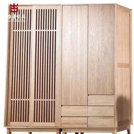 四川家具厂家,实木衣柜,古典衣柜定制