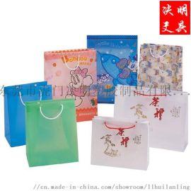 生产PP印刷手提袋 彩色手挽袋 服装袋超市购物袋
