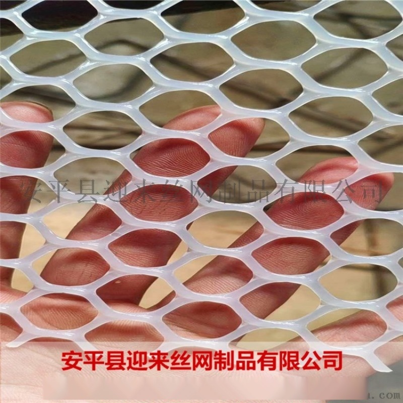 白色再生塑料网 养殖塑料网 养殖专用围栏网