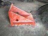 铸铁弯板 镗床靠背 90度直角靠背 T型槽弯板
