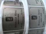 pet不干胶标签,镭射纸标签,变色龙标签,烫金烫银标签