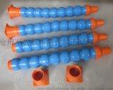 机床塑料冷却管 高品质 万向型直径50 塑料通风管