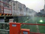 西宁建筑工地围挡/塔吊喷淋 搅拌站喷淋系统