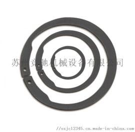 65锰反向轴用弹性挡圈 反轴用卡簧
