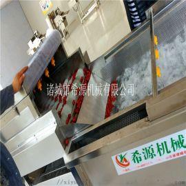 多功能花生去泥清洗机 不锈钢花生清洗风干加工设备