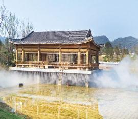 武汉自动高压喷雾机-售楼处人造雾-喷雾除尘设备