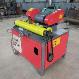 天然气管道抛光机 圆管除锈机 钢管抛光机