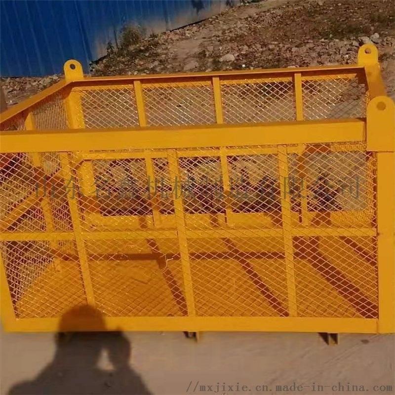 载重630kg起重机吊篮 工程高空作业施工