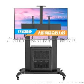 NBGF100铝合金电视移动架 大屏一体机落地架挂架