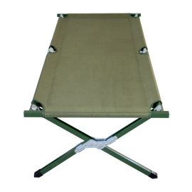 折叠床野战行军床 军绿色牛津布休闲午休床