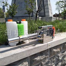 志成汽油脉冲动力烟雾水雾一体机高压农用喷雾器