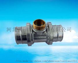 喷灌铝管铝合金三通厂家