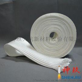 神玖石英纤维 厂家直供石英纤维套管 耐高温隔热材料