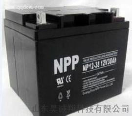 鹰潭市耐普蓄电池NP38-12UPS不间断电源