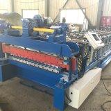 金屬板材滾壓850型水波紋彩鋼板雙層壓瓦機