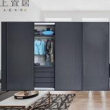 整體衣櫃現代簡約實木衣櫃臥室移門衣櫃定製廠家直銷