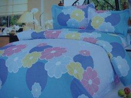 床上用品印花全棉被套四件套 (MM-YH-01)