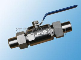 外螺纹球阀(Q21F)