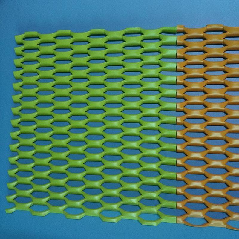 喷塑铝板网 吊顶铝板网 铝板装饰网