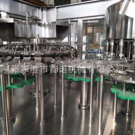 6000瓶全自动中小型550ml/5L三合一保鲜瓶装水灌装机 厂家现货
