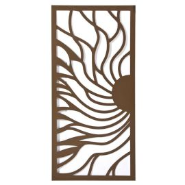 厂家直营木纹铝合金隔断窗花定制复古铝窗花屏风
