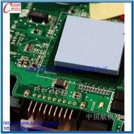 3W导热系数导热绝缘硅胶片 LED灯、汽车发动机控制模块、IC散热专用