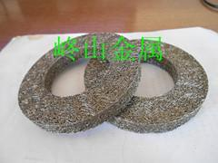 供应丝网压缩垫圈  不锈钢丝减振垫  消音减振环