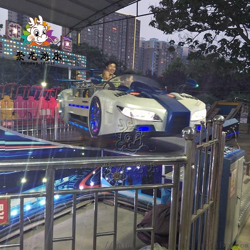 景区新款游乐设施高大气派飞车游艺设施聚龙游乐