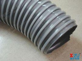 塑料方骨管,灰色方骨管,PVC塑料风管