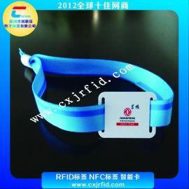 NTAG 216编织腕,NFC腕带卡,NFC门票卡