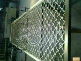 拉丝古铜不锈钢屏风-不锈钢隔断定制厂家-中式客厅花格