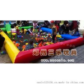 兒童沙池套裝價格  福建兒童玩沙氣墊多少錢