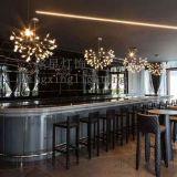 銘星燈飾新款餐廳吊燈白色葉子吊燈螢火蟲吊燈雪花樹叉吊燈