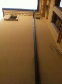 彩铝落水系统屋面雨水檐沟方管 檐沟雨水管