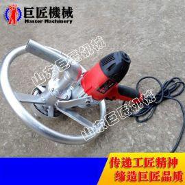 小型电动打井机 农村家用电动转盘钻井机 200V便携式水井钻机