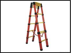 电工专用绝缘梯 人字梯 电工伸缩绝缘梯