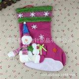 深圳加工厂 定制礼品袜圣诞袜子圣诞老人滑雪袜 承接各种贸易订单