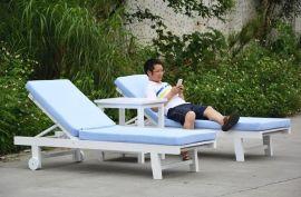 新款木质沙滩椅折叠躺椅户外躺床实木沙滩床午休床户外阳台椅