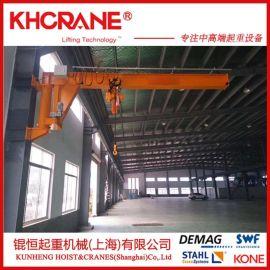 供应 5t 6m悬臂吊小型起重机  立柱固定旋臂式吊机  旋臂吊