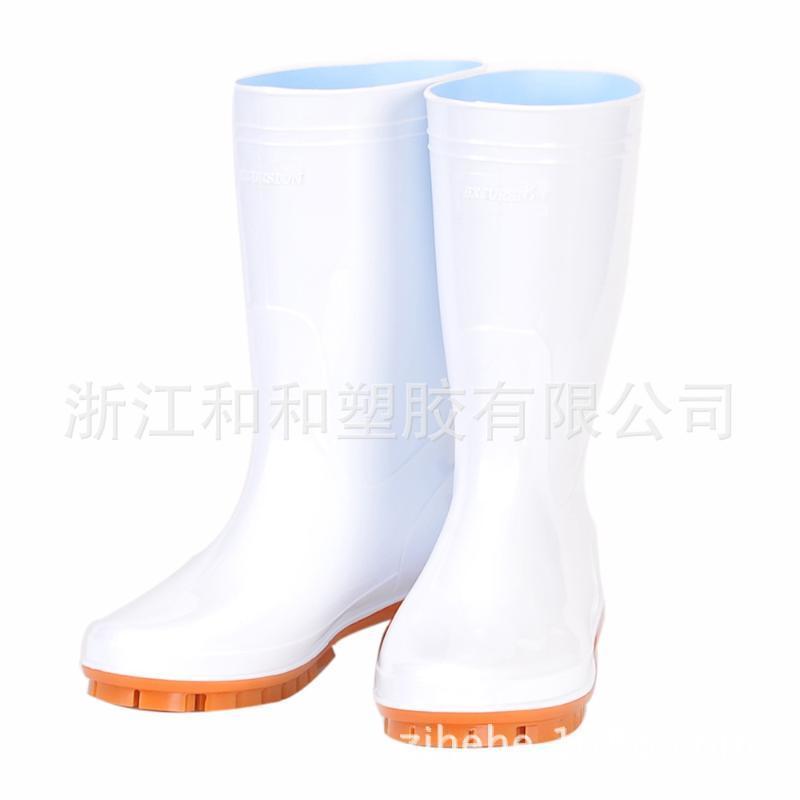廠家定製706PVC防滑衛生靴廚房工作靴防滑耐油耐酸鹼耐磨高幫雨鞋
