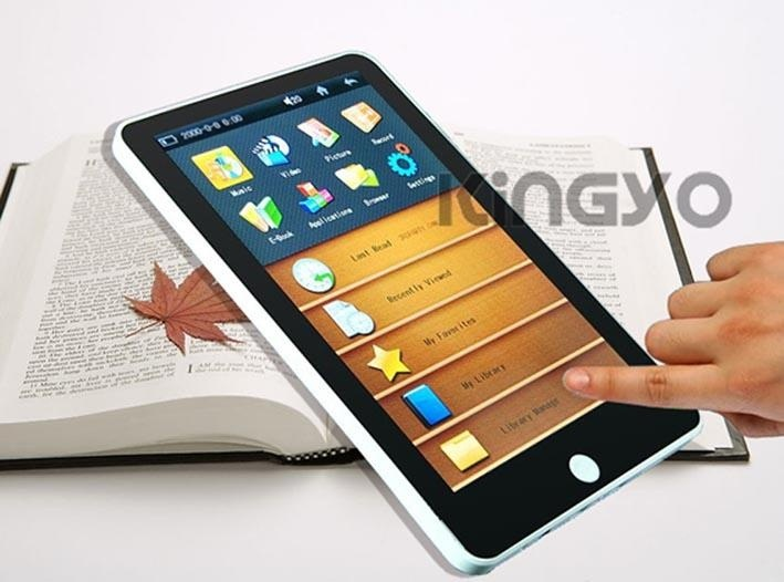 7寸TFT觸摸屏電子書閱讀器(KY-E001)