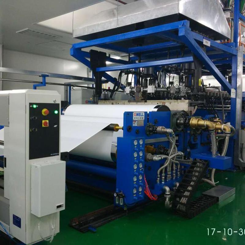 特种流延膜产线 金韦尔机械 塑料流延膜生产线