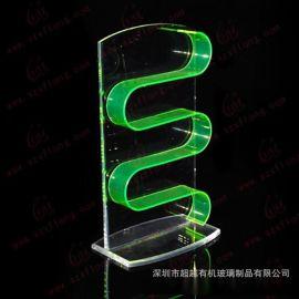 定做加工新款透明亚克力眼镜架 太阳镜 首饰饰品展示柜展示道具
